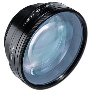 Длиннофокусный объектив для лазерной маркировки (поле 200х200 мм)